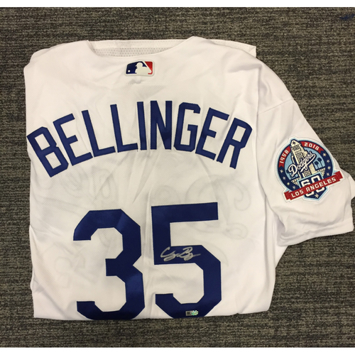 Photo of Los Angeles Dodgers Foundation Online Auction: Cody Bellinger Authentic Autographed Jersey
