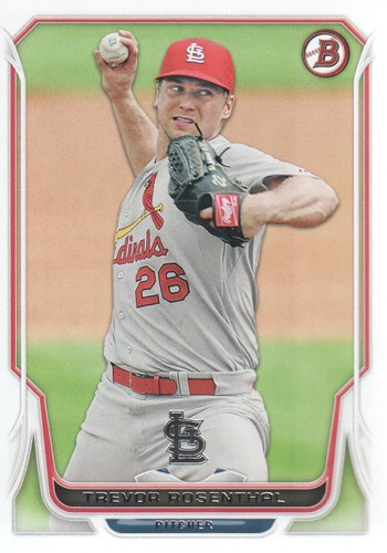 Photo of 2014 Bowman #12 Trevor Rosenthal