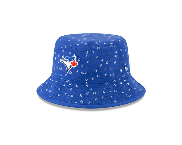 Toronto Blue Jays Infant Alphabet Bucket Cap by New Era