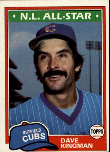 Photo of 1981 Topps #450 Dave Kingman DP