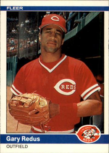 Photo of 1984 Fleer #481 Gary Redus RC