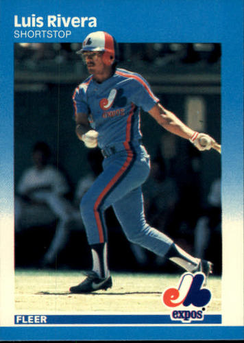 Photo of 1987 Fleer #330 Luis Rivera RC