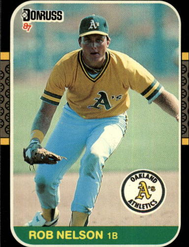 Photo of 1987 Donruss #595 Rob Nelson