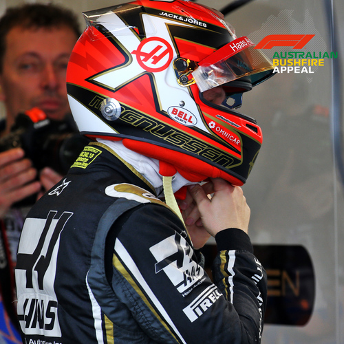 Photo of Kevin Magnussen 2020 Signed Race-worn Helmet