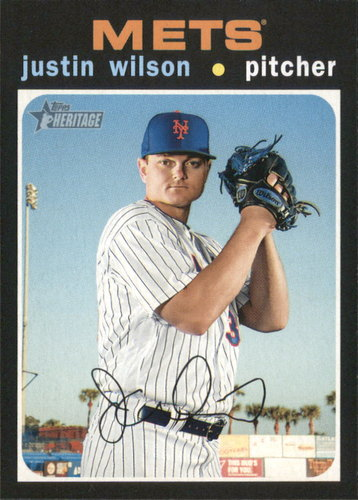 Photo of 2020 Topps Heritage #170 Justin Wilson
