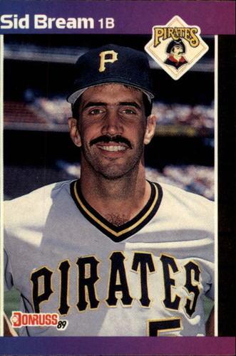 Photo of 1989 Donruss #252 Sid Bream