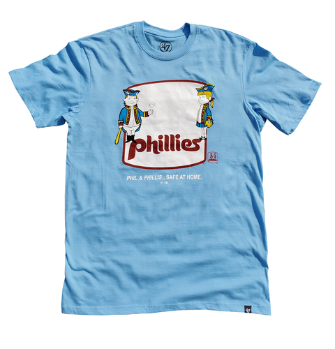 Photo of Phillies Phil & Phillis Social Distancing T-shirt - Choose your Size!