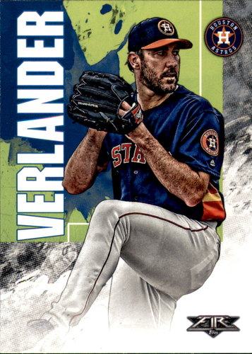 Photo of 2019 Topps Fire #24 Justin Verlander