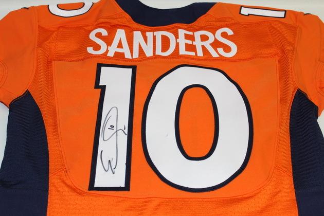 separation shoes feb49 bcf75 NFL Auction | BRONCOS EMMANUEL SANDERS SIGNED AND GAME ...