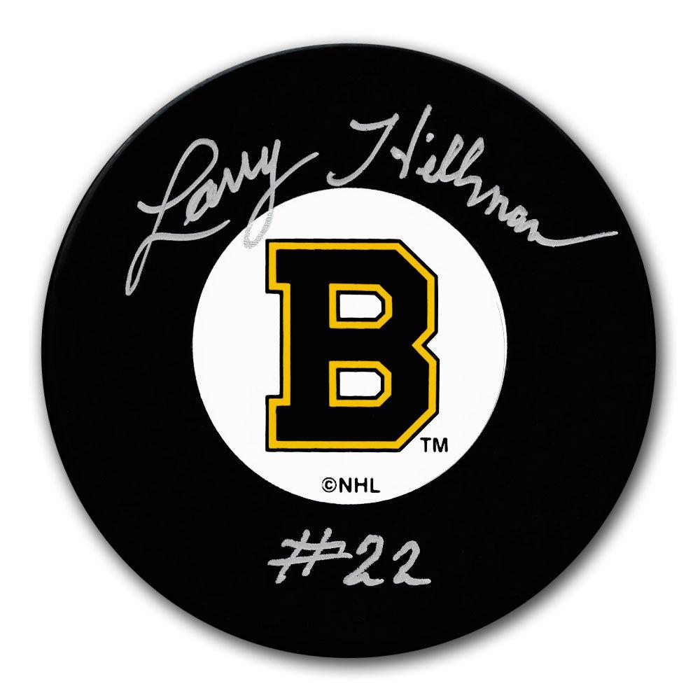 Larry Hillman Boston Bruins Original 6 Autographed Puck