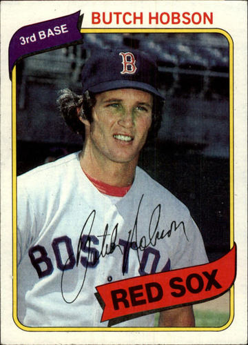 Photo of 1980 Topps #420 Butch Hobson