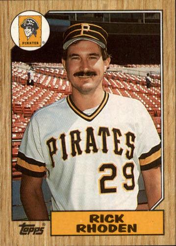 Photo of 1987 Topps #365 Rick Rhoden