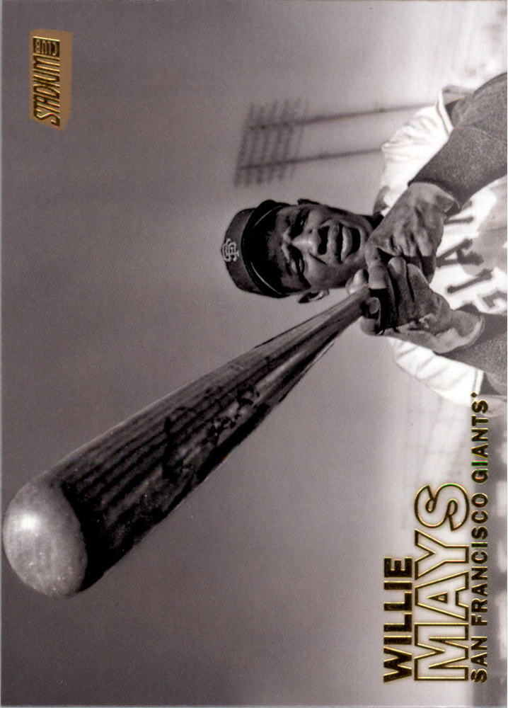 2016 Stadium Club Gold #194 Willie Mays