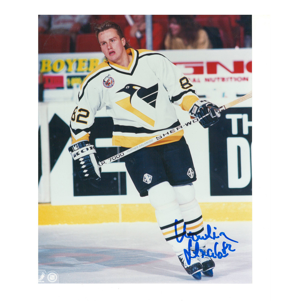 MARTIN STRAKA Signed Pittsburgh Penguins 8 X 10 Photo - 70269