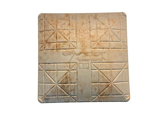 Photo of Game-Used 1st Base from Pirates vs. Reds on 6/18/14