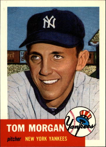 Photo of 1991 Topps Archives 1953 #132 Tom Morgan