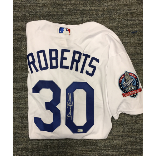 Photo of Los Angeles Dodgers Foundation Online Auction: Dave Roberts Authentic Autographed Jersey