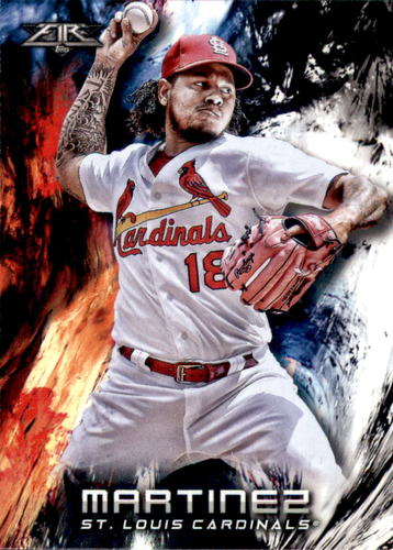 Photo of 2018 Topps Fire #116 Carlos Martinez