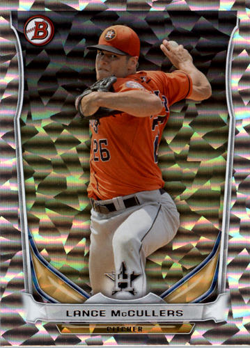 Photo of 2014 Bowman Draft Top Prospects Silver Ice #TP36 Lance McCullers