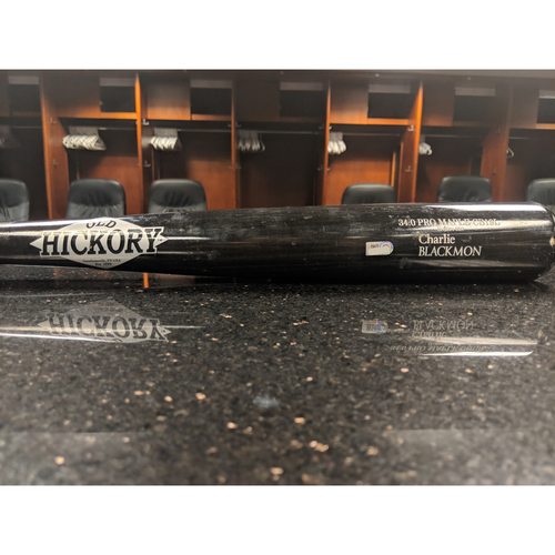 Photo of Colorado Rockies Game-Used Broken Bat - Charlie Blackmon - March 29, 2019