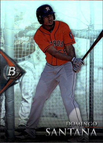 Photo of 2014 Bowman Platinum Prospects #BPP58 Domingo Santana