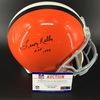 HOF - Browns Leroy Kelly Signed Proline Helmet