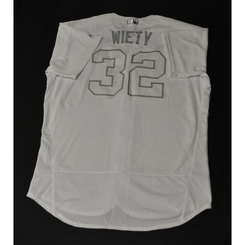 "Photo of Matt ""WIETY"" Wieters St. Louis Cardinals Game-Used 2019 Players' Weekend Jersey"