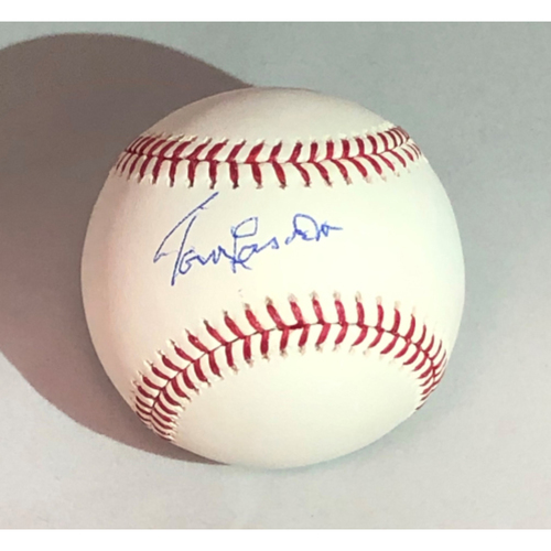 Photo of Tommy Lasorda Authentic Autographed Baseball