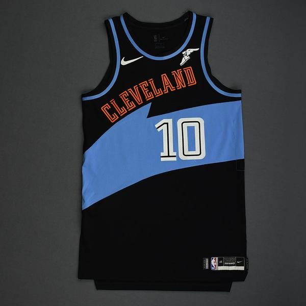 Image of Darius Garland - Cleveland Cavaliers - Game-Worn Classic Edition 1994-96 Road Jersey - 5th Overall 2019 NBA Draft Pick - 2019-20 Season