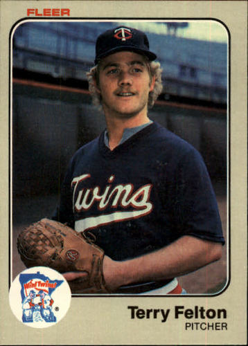Photo of 1983 Fleer #612 Terry Felton