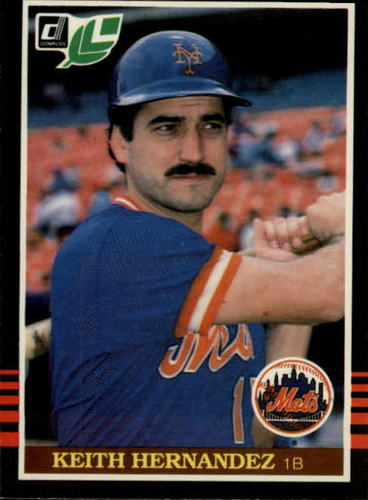 Photo of 1985 Leaf/Donruss #62 Keith Hernandez