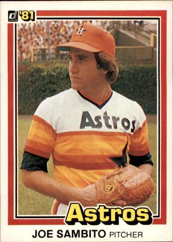 Photo of 1981 Donruss #21 Joe Sambito