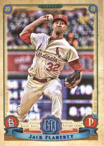 Photo of 2019 Topps Gypsy Queen #175 Jack Flaherty