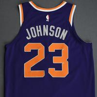 Cameron Johnson - Phoenix Suns - Game-Worn Icon Edition Rookie Debut Jersey - 2019-20 Season