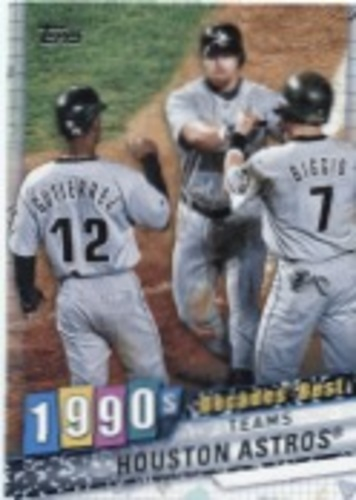 Photo of 2020 Topps Decades' Best Series 2 #DB71 Houston Astros