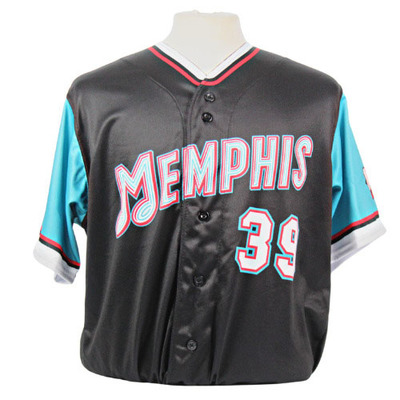Zack Thompson Autographed Game-Worn 2021 Grizzlies-themed Jersey