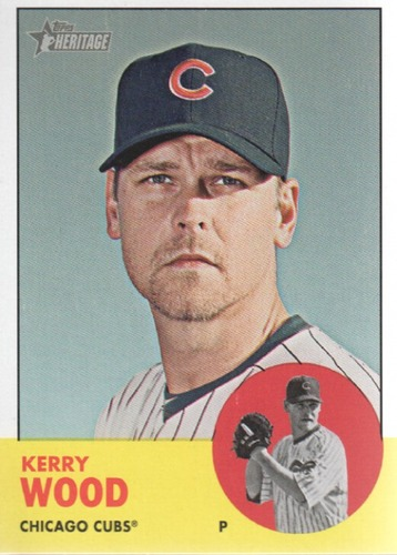 Photo of 2012 Topps Heritage #113A Kerry Wood
