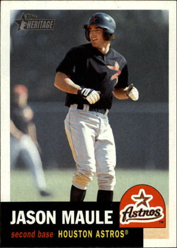 Photo of 2002 Topps Heritage #422 Jason Maule SP RC