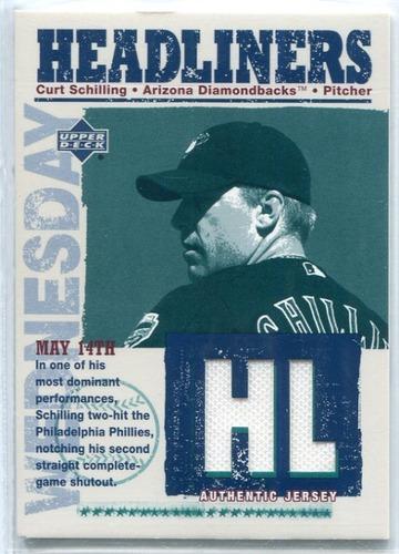 Photo of 2004 Upper Deck Headliners Jersey #CS Curt Schilling