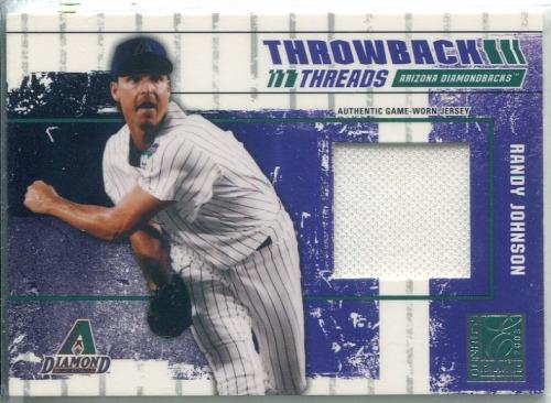 Photo of 2003 Donruss Elite Throwback Threads #1 Randy Johnson D'backs