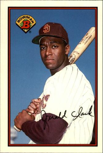 Photo of 1989 Bowman Tiffany #462 Jerald Clark