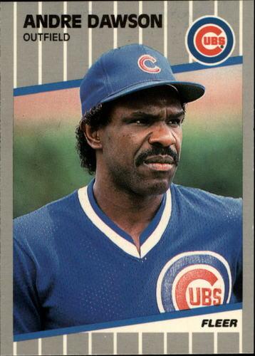 Photo of 1989 Fleer Glossy #422 Andre Dawson