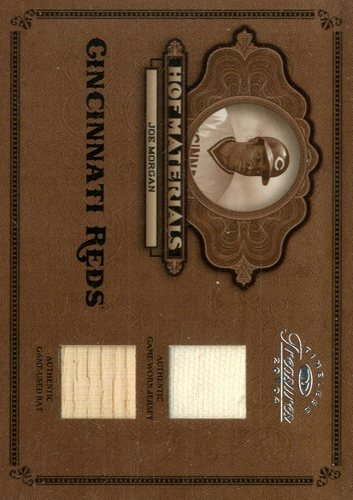 Photo of 2004 Timeless Treasures HOF Materials Combos Bat-Jersey #18 Joe Morgan/50