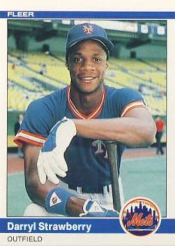 Photo of 1984 Fleer #599 Darryl Strawberry RC