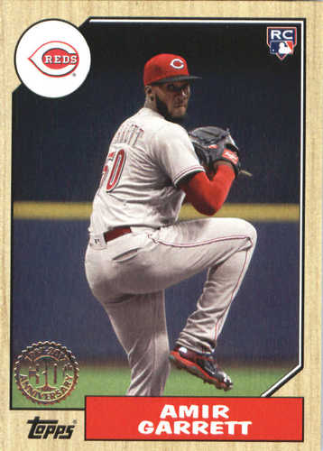 Photo of 2017 Topps Update '87 Topps #US872 Amir Garrett