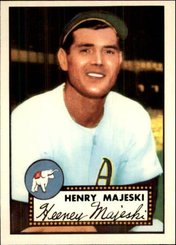 Photo of 1983 Topps 1952 Reprint #112 Hank Majeski