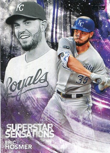 Photo of 2018 Topps Superstar Sensations #SSS29 Eric Hosmer
