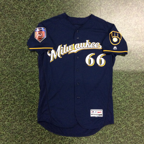 Photo of Mauricio Dubon 2018 Game-Used Spring Training Jersey