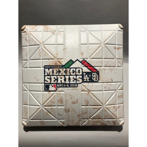 2018 Mexico Series - 3rd Base Used In Innings 7-9 - 05/04/18 - Combined No-Hitter