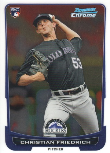 Photo of 2012 Bowman Chrome #207 Christian Friedrich RC